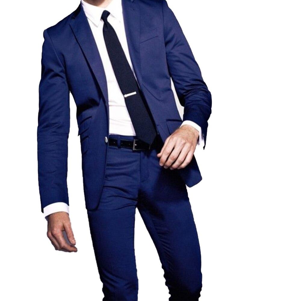 CUSTOM MADE TO MEASURE MEN SUIT, BESPOKE DARK BLUE BUSINESS MEN SUIT,CLASSIC MEN WEDDING SUITS FOR MEN