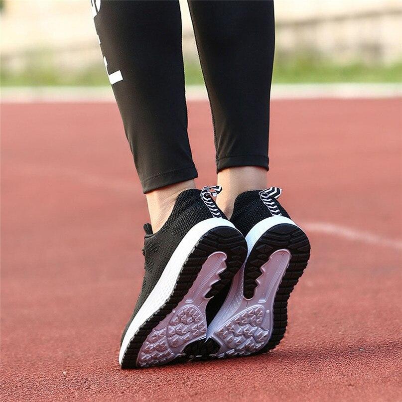 Running Sneakers Women Lightweight Gym Sneakers Round head Casual Yoga Sneakers