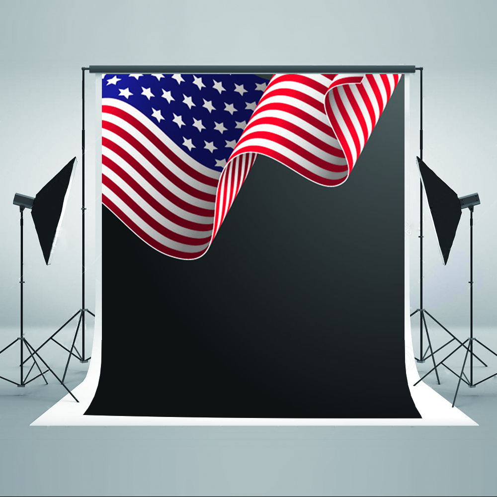 Independence Day Photography Backdrops American Flag Party Photo Backdrops Independence Day Background for Photographic Studio
