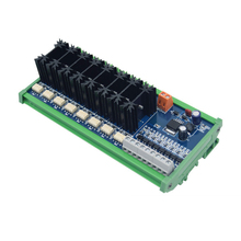 4, 8, 10-way PLC high power output board, original drive tube high frequency high speed optocoupler isolation 100% original mrf255 new the high frequency tube