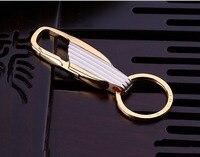Sıcak Satış Metal Erkekler Anahtarlık iki Renk askılı Yeni Bel araba Anahtarlık Anahtarlık Yüksek Kalite Anahtarlık jewrelry Hediye K1173