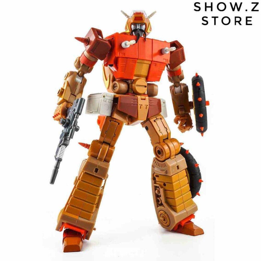 [Show. Z Store] KFC Giocattoli E.A.V.I. Fase metallica 6A Crash Hog Wreck-Gar WreckGar Trasformazione Action Figure