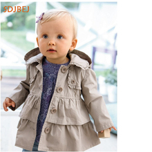 hot deal buy infantil jacket toddler girls casaco roupas menina spring autumn baby girls outerwear&coats kids clothes girls treach coat