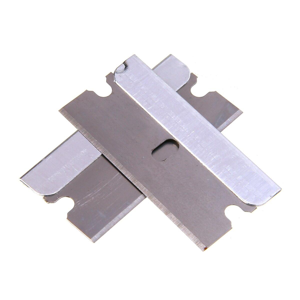 Durable 100pcs/set Auto Film Special Glass Removal Blade Carbon Steel Razor Blade Single Edge For Window Fish Tank Mayitr
