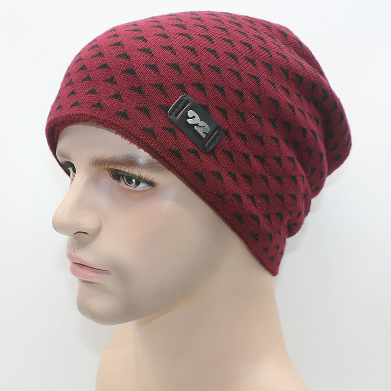2017 New Winter Hat Fashion Man Warm Cap Beanie Hat Warm Beanies Elastic Plush Gorros Toucas Inverno Bonnet от Aliexpress INT