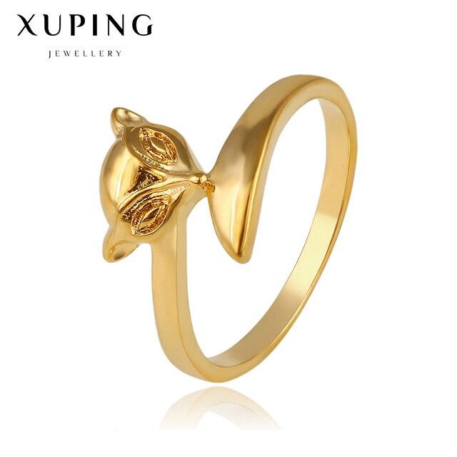 2017 Gold color fox rings women handmade costume jewelry womens