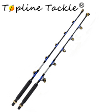 купить 50-80LBS ,80-130LBS boat rods 6' eliminator alu bent butt trolling boat fishing trolling rod дешево