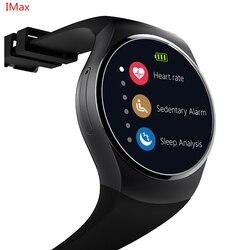 KW18 montre intelligente SIM TF MTK2502 moniteur de fréquence cardiaque Smartwatch écran tactile bluetooth montre-bracelet pour apple android IOS téléphone