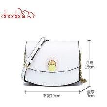 DOODOO 2019 Women Crossbody Bag Cow Leather Small Handbags Luxury SHoulder Bags Female Cross Body for