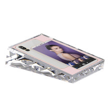 5 inches 13x9cm Acrylic Block Frame Vertical Name Card Cover Price Tag Display Stand Desk Sign Holder Phone Poster Photo Frame(China)