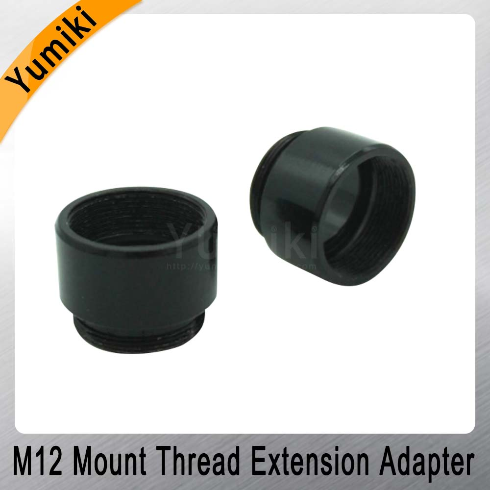 Image 4 - Yumiki 2pcs/lot Mount Thread Extension Adapter Zinc Alloy Extender M12 Lens Extension Ring for MTV Interface CCTV Lens-in CCTV Parts from Security & Protection