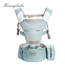 Honeylulu Summer Breathable Baby Carrier Sling For Newborns Kangaroo Removable Storage Bag Ergoryukzak Hipsit