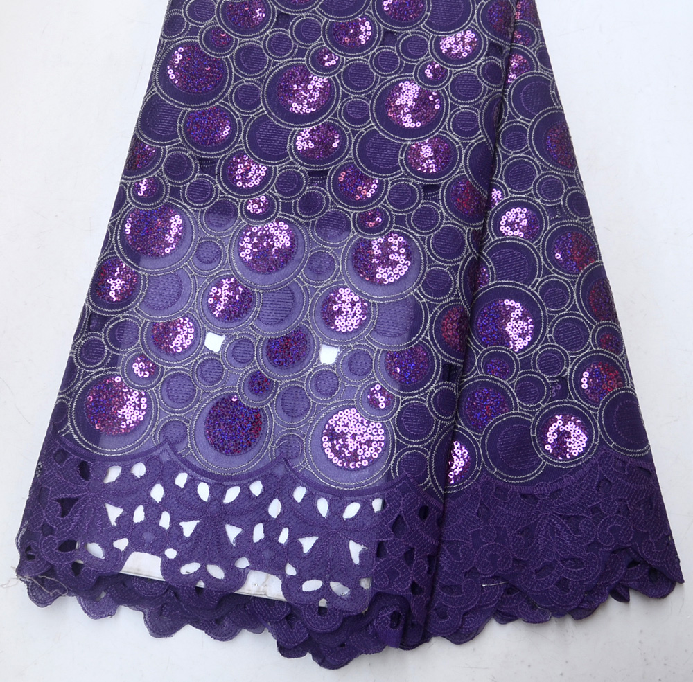 Classic African Bridals Sequins Wedding lace African Tradtional Wedding Purple sequins laceClassic African Bridals Sequins Wedding lace African Tradtional Wedding Purple sequins lace