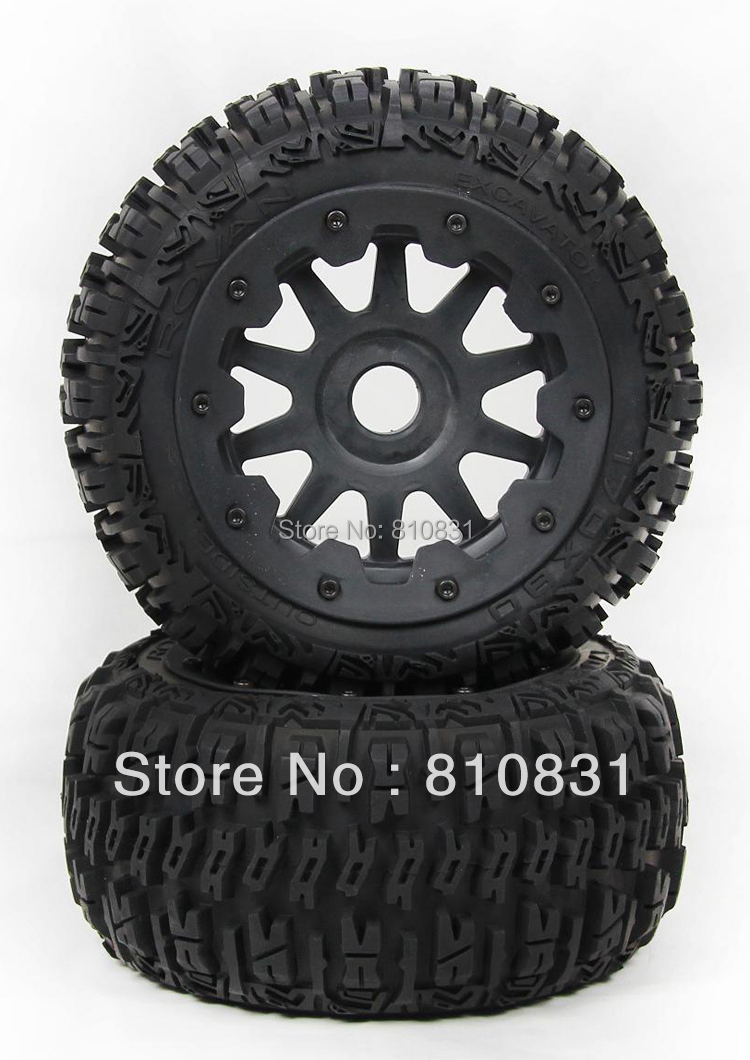 ФОТО The third generation rear tires kit  with mental core for 23cc 26cc 29cc 305cc 5B bajas