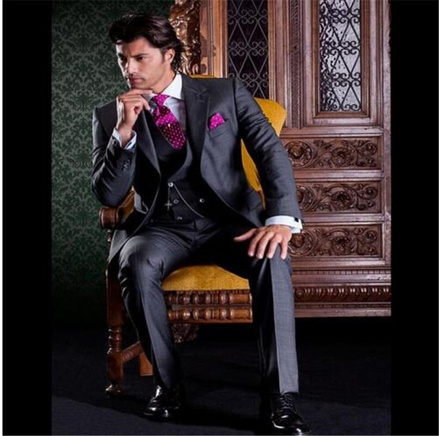 Latest Coat Pant Designs Beige Men Suit Prom Tuxedo Slim Fit 3 Piece Groom Style mens Suits Custom Blazer Terno