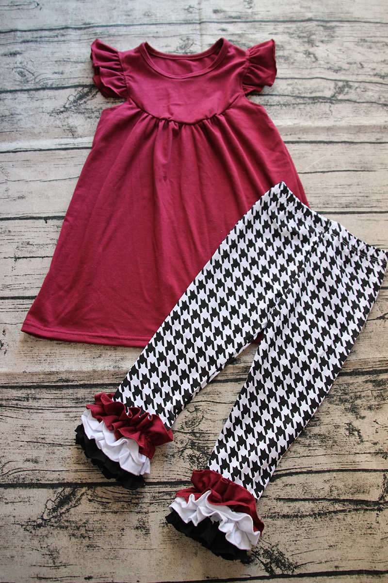 393f8b12de621 ... 2017 Trendy kids clothing baby spring summer remake clothes baby girls  top design ruffle pants girls