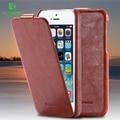 FLOVEME фирменный чехол для Apple iPhone 5 5S se 4 4s телефон случаях Вертикальный флип чехол для мобильного телефона iPhone 7 6 6S Plus кожаные аксессуары - фото