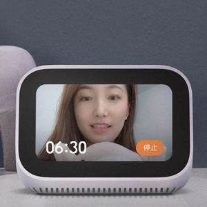 Image 2 - Оригинальный сенсорный экран Xiaomi AI, Bluetooth 5,0, динамик, цифровой дисплей, будильник, Wi Fi, умное подключение, динамик Mi