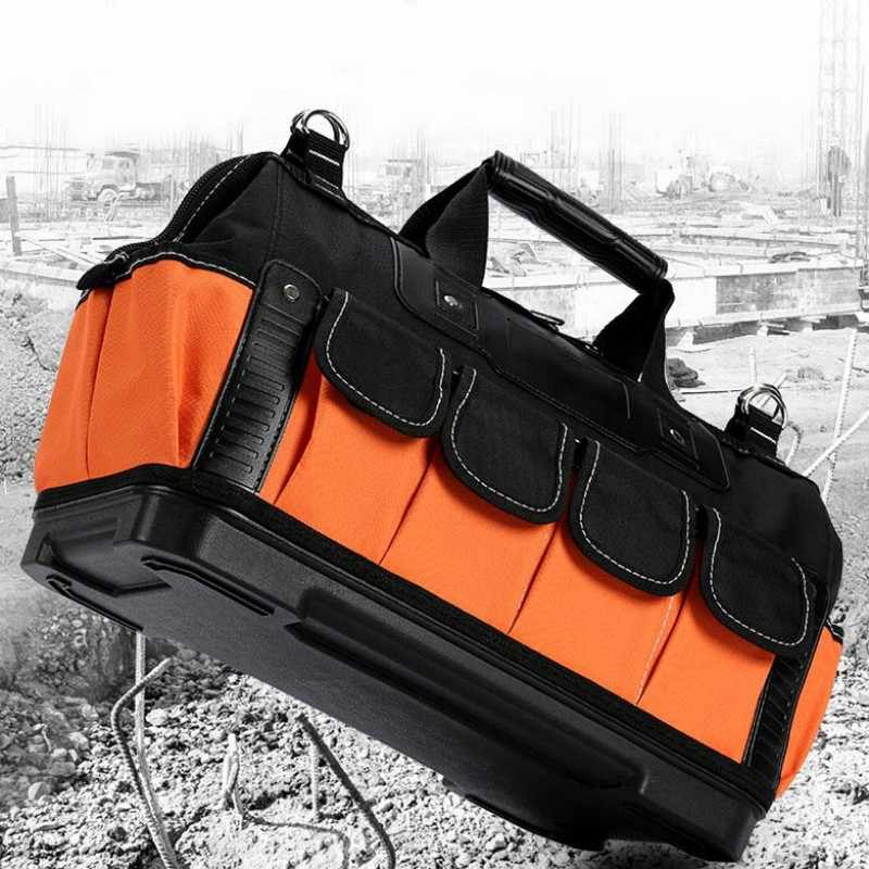 Tool case bag Electrician tool kit multi-function Oxford Cloth box hardware shoulder tool storage box bag