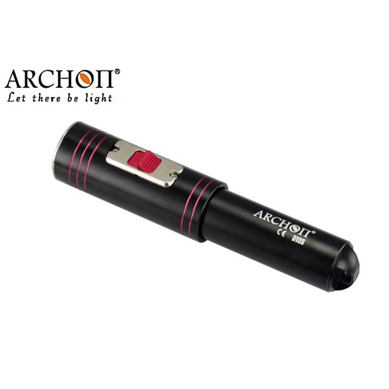 ARCHON D10S W16S  Diving Flashlight 100% Original Cree XM-L U2 LED 860 Lumens Diving Torch diving lights Diving(without battery) водонагреватель накопительный zanussi zwh s 10 melody u yellow