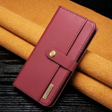 Flip Wallet Case for Huawei Mate 20 Lite 2 in 1 Folio Card Holder Magnetic Detachable Back Cover Case for Huawei Mate 20 Pro(China)