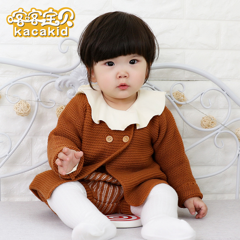 KACAKID Official Store Knitted Girl Clothes Set Lovely Fashion Knitted Girl Clothes Set Cute Color Knitted Girl Clothes Set 3369KACAKID Official Store Knitted Girl Clothes Set Lovely Fashion Knitted Girl Clothes Set Cute Color Knitted Girl Clothes Set 3369