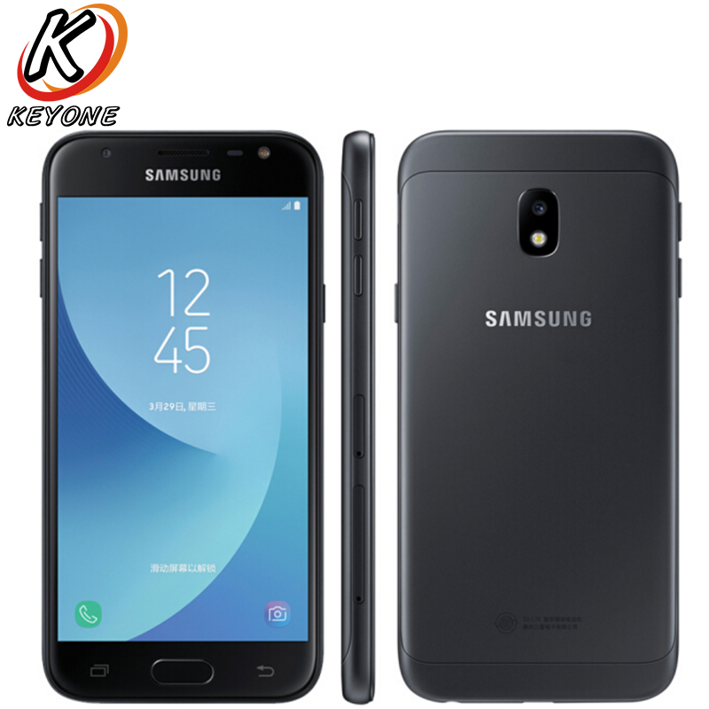 "New original Smasung 2017 GALAXY J3 J3308 LTE Mobile Phone 5.0 ""3 기가바이트 RAM 32 기가바이트 ROM 금어초 425 quad Core 13.0MP Dual SIM 폰