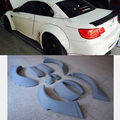 PU E92 M3 Widebody Wheel Arch trim Cover Fender Flares Trim Fit For Bmw  08-12 Unpainted
