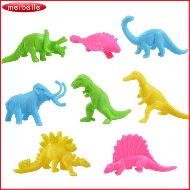 32 Pcs Lucu Bermain Mainan Dinosaurus Model Dinosaurus Mainan Set
