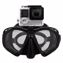 Профессиональная маска для подводного плавания подводное плавание плавательные очки Подводное Дайвинг оборудование подходит для большинства Спорт Камера