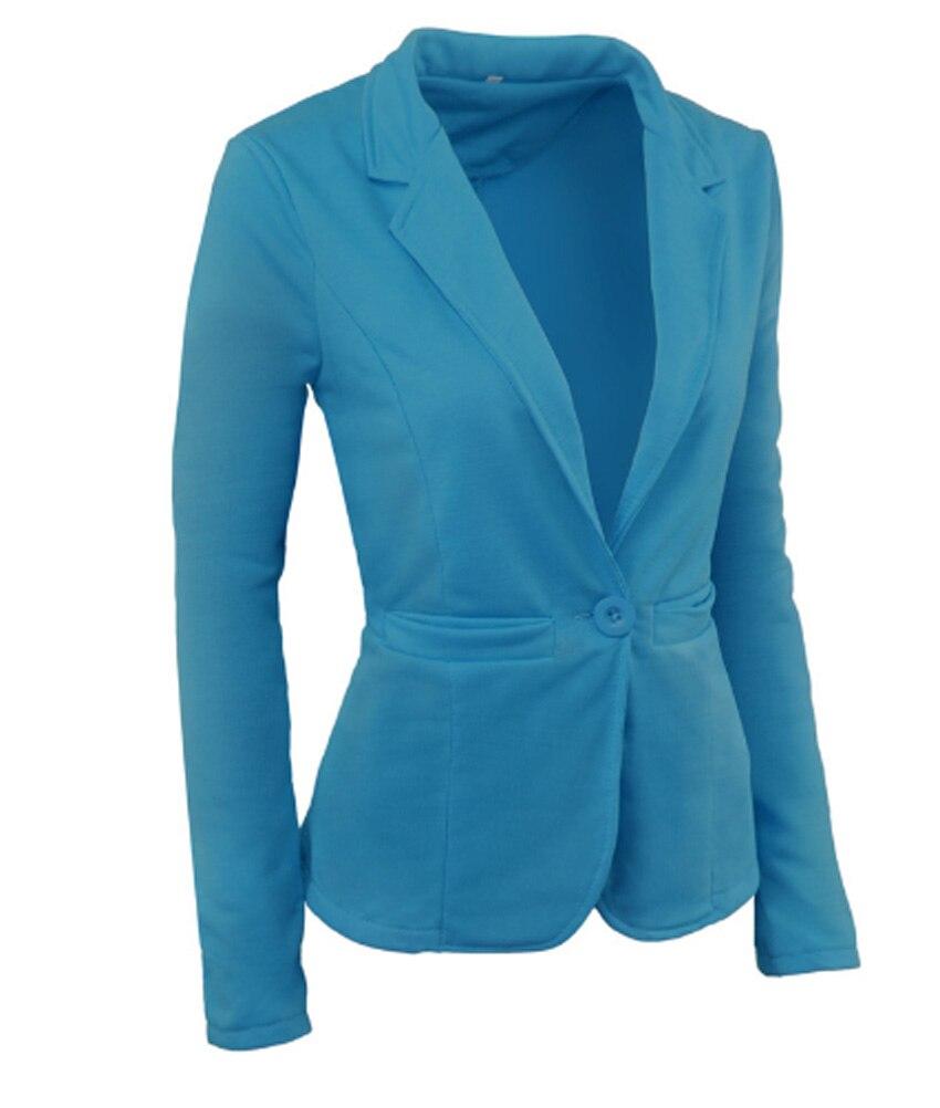 Vadim Sale Blazer Feminino Flying Roc 2019 Autumn Slim Office Suit Blazer Flores Mujer Casual Sleeve Plus Sized Women Jacket