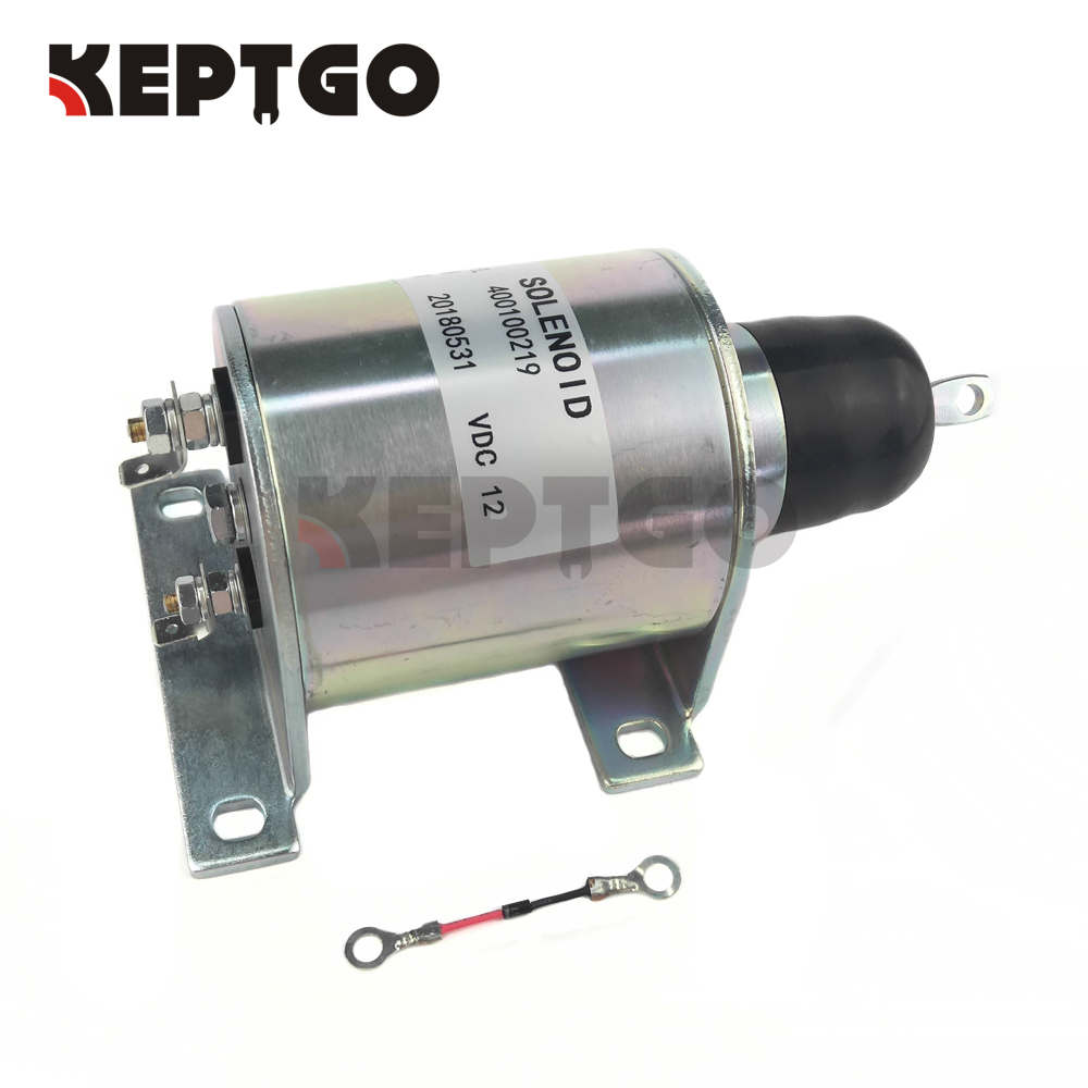 New Fuel Stop Solenoid 44-9181 449181 12v For Thermo King Engine M-44-9181 stop solenoid 1j710 60011 12v for engine v2607
