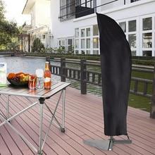 Водонепроницаемый чехол для зонта, черный, портативный, водонепроницаемый, ткань Оксфорд, для улицы, чехол для зонта, для сада, дождевик, аксессуары