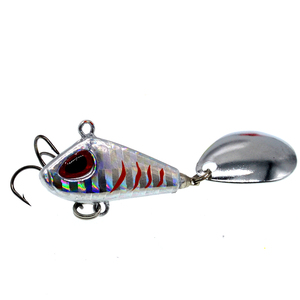 Image 4 - Metal Mini VIB Fishing Lure 6g 25g Winter Ice Fishing Tackle Pin Crankbait Vibration Spinner Sinking Bait