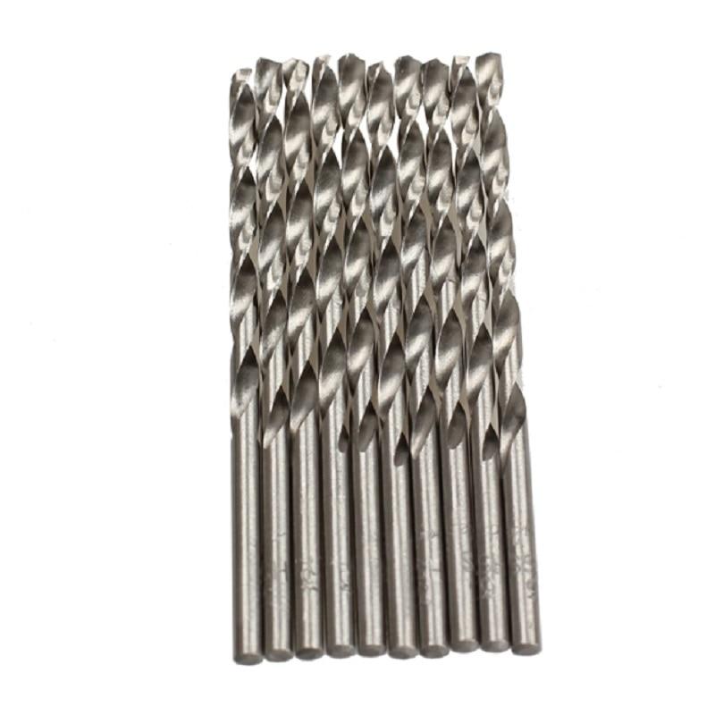 10PCS / Set HSS Set di punte per trapano a spirale Set 3mm 60mm Micro - Punta da trapano - Fotografia 6