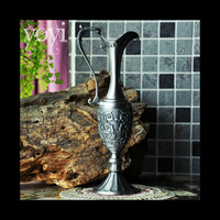 Russian Style Retro Vase Hezuishou Metal Craft Accessories Decorative Bottle Home Furnishing Small Ornaments