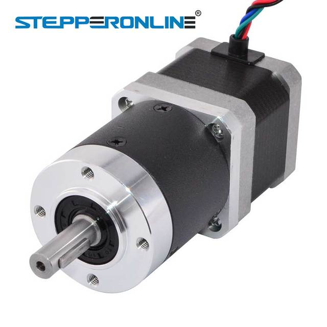 Nema 17 Stepper Motor L=39mm Gear Ratio 20:1 High Precision Planetary Gearbox 1.68A 4-lead 42 Motor CNC 3D Printer