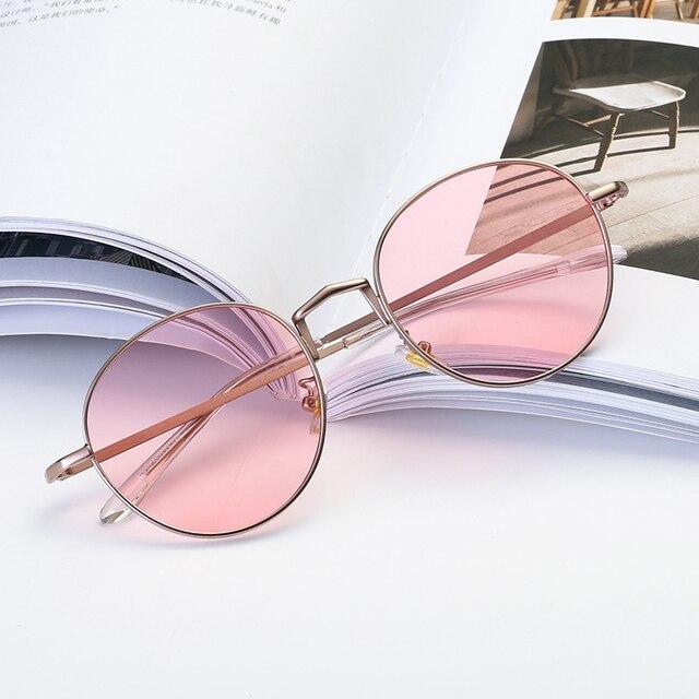 37495cd5c1 Lucky Lion Women Eyeglasses Brand Designer Oval Rose Alloy Frame Print Women  Optical Clear Len Glasses Unisex Eyeglasses Frames