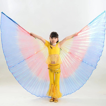 New Arrivals colorful Kids/Children belly dancing Isis Wings Children/Girls Egyptian dance Wings Hot-Selling