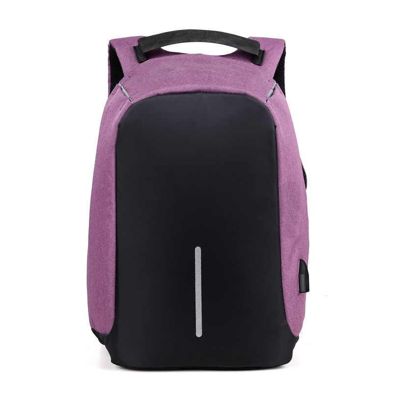 Мода путешествия органайзер для хранения сумки Anti Theft USB зарядка Рюкзак Для мужчин 15 дюймовый ноутбук рюкзаки Bagpack sac dos mochila мешки для обуви мешок для обуви школьный