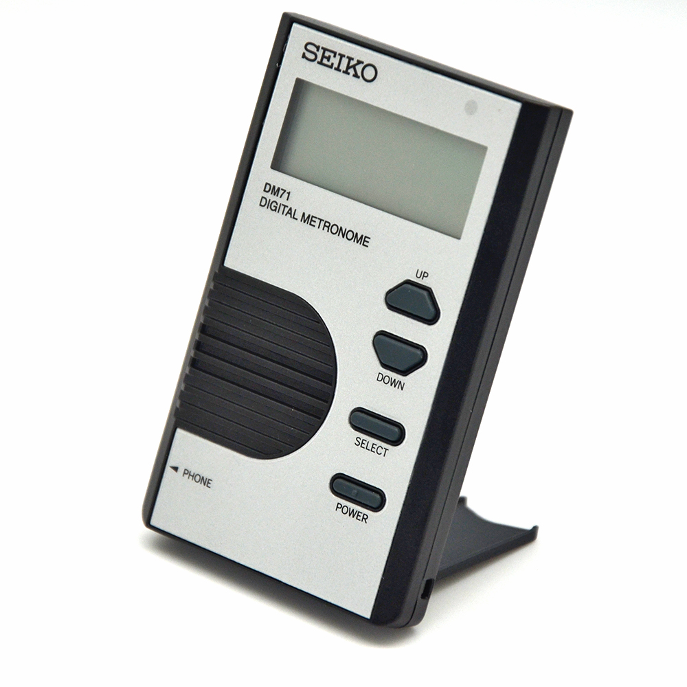 Seiko Pocket-Size Digital Metronome Musical Instruments Full Function Metronome Covenient Piano Guitar Violin Partner Seiko DM71
