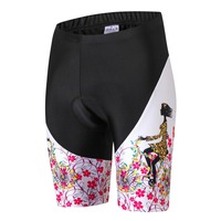 Women Cycling Shorts Bicycle 3D Padded Gel Breathable Underpant Bike Underwear Quick Dry Shorts Riding Girl