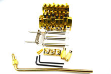 Gold Vintage Floyd Rose Lic Electric Guitar Tremolo Bridge Double Locking Assembly System Free Shipping Wholesales