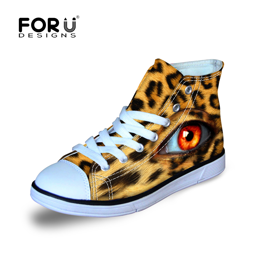 FORUDESIGNS Kids Canvas Shoes for Children Walking Running Junping Kids Sport Shoes Boys&Girls 2018 New High Top Sneaker Shoes uovo brand kids spring autumn new sport shoes for girls green color casual sneakers kids fashion canvas shoe zapatos eu 30 37