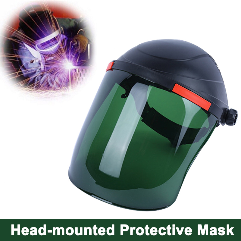 Welding Helmet Clear Lens Anti-shock Eye Protective Face Shield Mask SL@88Welding Helmet Clear Lens Anti-shock Eye Protective Face Shield Mask SL@88