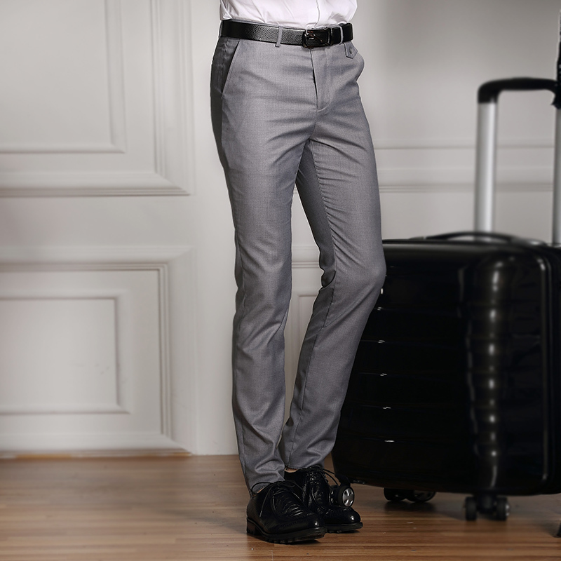 Men s formal dress pants men s fashion cultivate one s morality leisure business suit pants