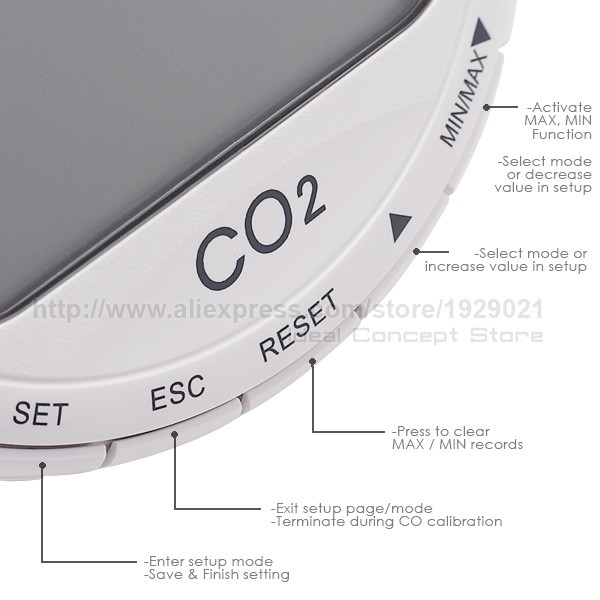 ideal-concept_CO2-monitor_CO87_buttons