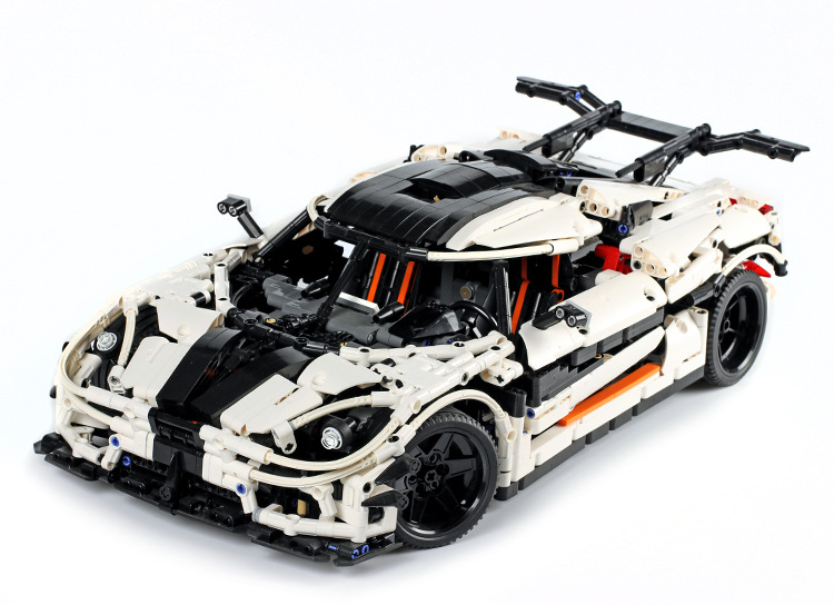 Lepin 23002 Technic Series MOC-4789 Changing Racing Car Set Model Building Blocks Bricks Toys for Children Boys Christmas Gifts doinbby store 21004 1158pcs with original box technic series f40 sports car model building blocks bricks 10248 children toys