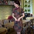 Shanghai Story chinese traditional dress short chinese dress oriental styled dresses China cheongsam qipao 3 Style