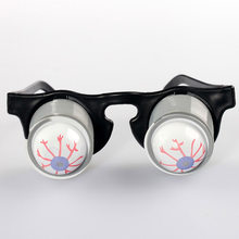 April Fools' Day Clown Glasses Process Eye Eye Mirror Halloween Persecute Others Tricky Toys Evil Do Spring(China)